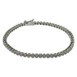 Gold Diamond Bracelet 2.16 CT. T.W. Model Number : 1619