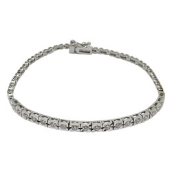 Gold Diamond Bracelet 0.7 CT. T.W. Model Number : 1622