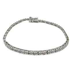 Gold Diamond Bracelet 0.7 CT. T.W. Model Number : 1622