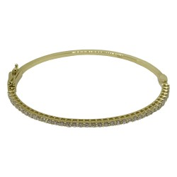 Gold Diamond Bracelet 1.43 CT. T.W. Model Number : 1665