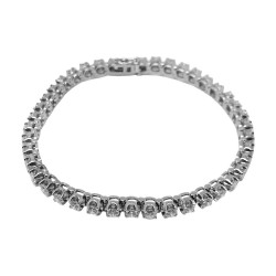 Gold Diamond Bracelet 3.8 CT. T.W. Model Number : 1689