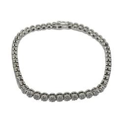 Gold Diamond Bracelet 1.58 CT. T.W. Model Number : 588