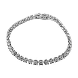 Gold Diamond Bracelet 1.06 CT. T.W. Model Number : 585