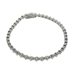 Gold Diamond Bracelet 2.2 CT. T.W. Model Number : 589
