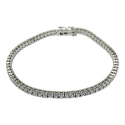 Gold Diamond Bracelet 3.82 CT. T.W. Model Number : 1201