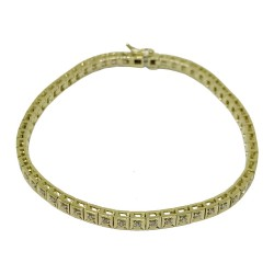 Gold Diamond Bracelet 0.67 CT. T.W. Model Number : 1197