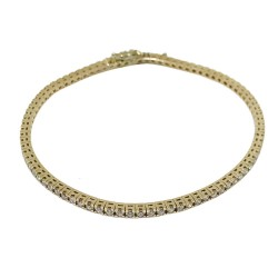 Gold Diamond Bracelet 2 CT. T.W. Model Number : 584