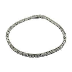 צמיד זהב משובץ 72 יהלומים במשקל 3.2 קרט דגם : 1127