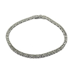 Gold Diamond Bracelet 3.2 CT. T.W. Model Number : 1127