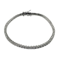Gold Diamond Bracelet 3.12 CT. T.W. Model Number : 586