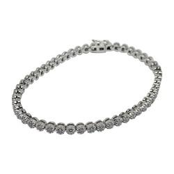 Gold Diamond Bracelet 1.4 CT. T.W. Model Number : 595
