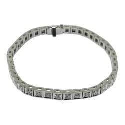 Gold Diamond Bracelet 2.46 CT. T.W. Model Number : 593
