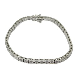 Gold Diamond Bracelet 1.79 CT. T.W. Model Number : 1610