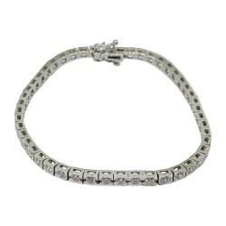 Gold Diamond Bracelet 1.79 CT. T.W. Model Number : 1610