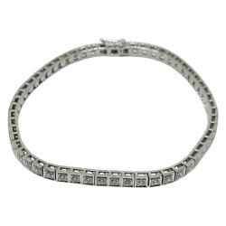 Gold Diamond Bracelet 1.94 CT. T.W. Model Number : 1612