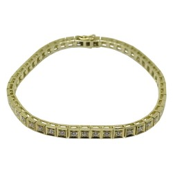 Gold Diamond Bracelet 1.52 CT. T.W. Model Number : 1614