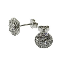 Gold Diamond EarRings 0.79 CT. T.W. Model Number : 1498