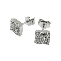 Gold Diamond EarRings 0.33 CT. T.W. Model Number : 1524