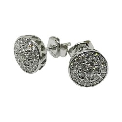 Gold Diamond EarRings 0.4 CT. T.W. Model Number : 1528