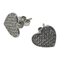 Gold Diamond EarRings 0.32 CT. T.W. Model Number : 1083