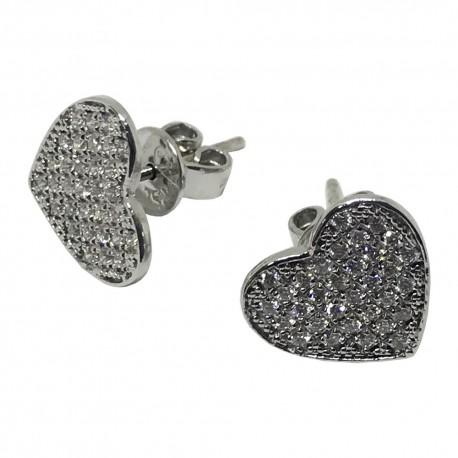 Gold Diamond EarRings 0.32 CT. T.W. Model Number : 1083