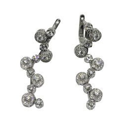 Gold Diamond EarRings 1.67 CT. T.W. Model Number : 4460