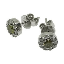 Gold Diamond EarRings 0.16 CT. T.W. Model Number : 1081