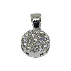 Gold Diamond Pendant 0.21 CT. T.W. Model Number : 1504