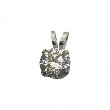 Gold Diamond Pendant 0.5 CT. T.W. Model Number : 4455