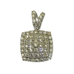 Gold Diamond Pendant 0.74 CT. T.W. Model Number : 1507