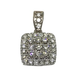 Gold Diamond Pendant 0.52 CT. T.W. Model Number : 1518