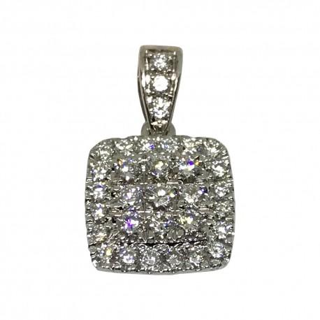 Gold Diamond Pendant 0.52 CT. T.W. Model Number : 1518