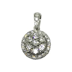 Gold Diamond Pendant 0.41 CT. T.W. Model Number : 1521