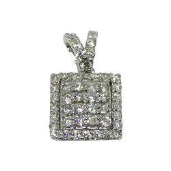 Gold Diamond Pendant 0.34 CT. T.W. Model Number : 4456