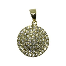 Gold Diamond Pendant 0.6 CT. T.W. Model Number : 1145
