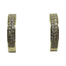 תליון זהב משובץ 56 יהלומים במשקל 0.38 קרט דגם : 1552