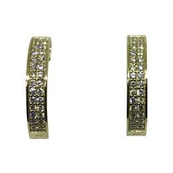 תליון זהב משובץ 56 יהלומים במשקל 0.48 קרט דגם : 1553