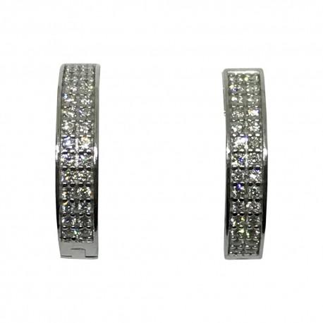 Gold Diamond Pendant 0.64 CT. T.W. Model Number : 1554