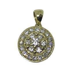 Gold Diamond Pendant 0.52 CT. T.W. Model Number : 1030
