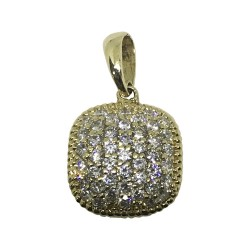 Gold Diamond Pendant 0.63 CT. T.W. Model Number : 1049