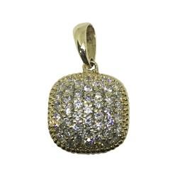 Gold Diamond Pendant 0.63 CT. T.W. Model Number : 1049