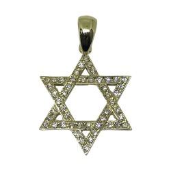 Gold Diamond Pendant 0.28 CT. T.W. Model Number : 1696