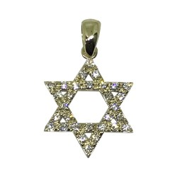 Gold Diamond Pendant 0.3 CT. T.W. Model Number : 1699