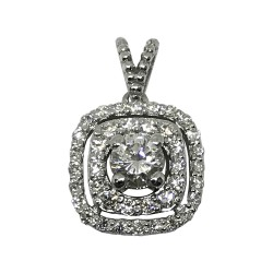 Gold Diamond Pendant 0.53 CT. T.W. Model Number : 1501