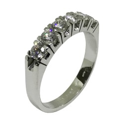 Gold Diamond Ring 0.82 CT. T.W. Model Number : 1487