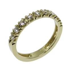 Gold Diamond Ring 0.41 CT. T.W. Model Number : 1539