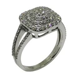 Gold Diamond Ring 0.72 CT. T.W. Model Number : 1565