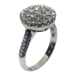 Gold Diamond Ring 1.3 CT. T.W. Model Number : 1589