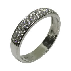 Gold Diamond Ring 0.32 CT. T.W. Model Number : 1624